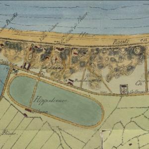 1870 : le champ de courses et l'aérodrome