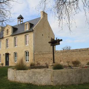 La ferme du Hôme et la chapelle Saint-Christophe