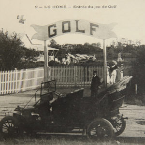 1907 : le golf de Cabourg - Le Hôme